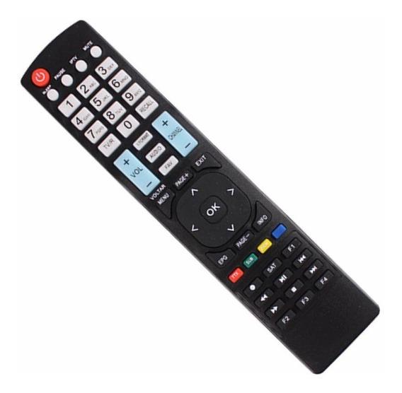 Controle Remoto Tv C/ne Grande B-ox Funciona Todos Modelos