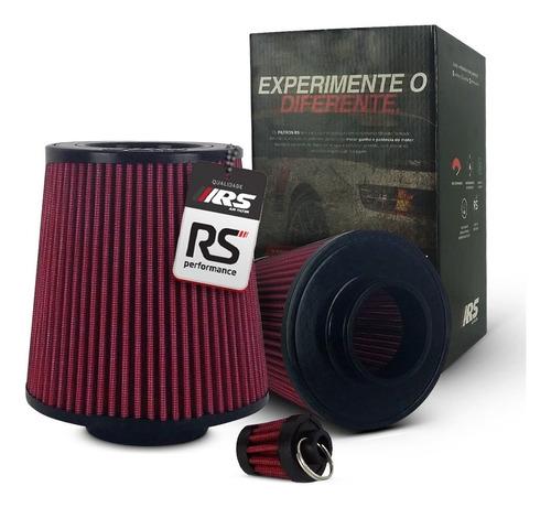 Filtro De Ar Esportivo Duplo Fluxo Rsd75150 Vermelho