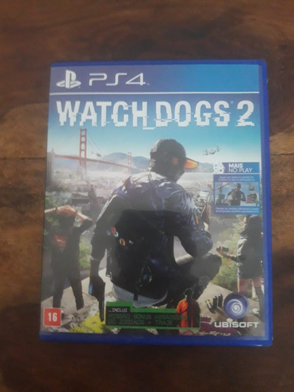 Ps4 Watch Dogs 2 Original