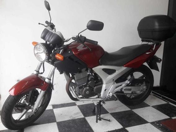 Honda Cbx 250 Twister 2006 Vermelha Tebi Motos