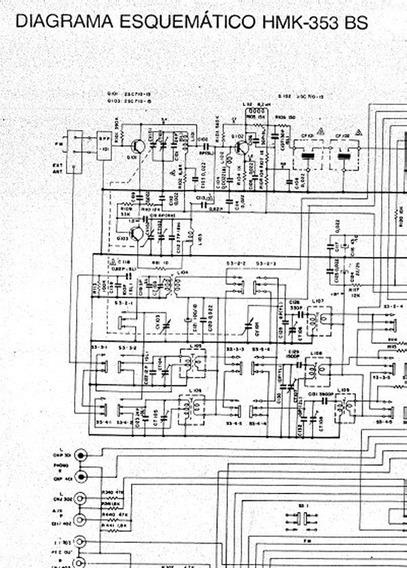 Esquema Eletrico Do Aparelho Sony Hmk-353bs
