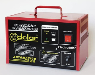 Cargador Automáticos De Baterías 24 V At24 Dolar (de Flote)