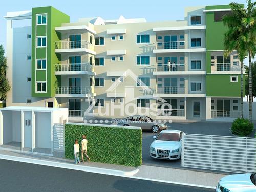 Apartamento En 3er Nivel En Residencial Cerrado Wpa82