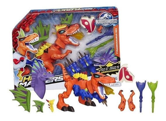 Dinosaurio - Jurassic World Mashers Tiranosaurius Rex 20cm
