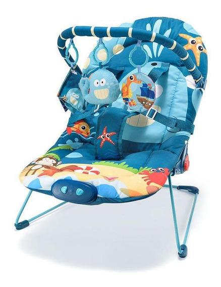 Cadeira Descanso Baleia Para Bebês Multikids Reclinável
