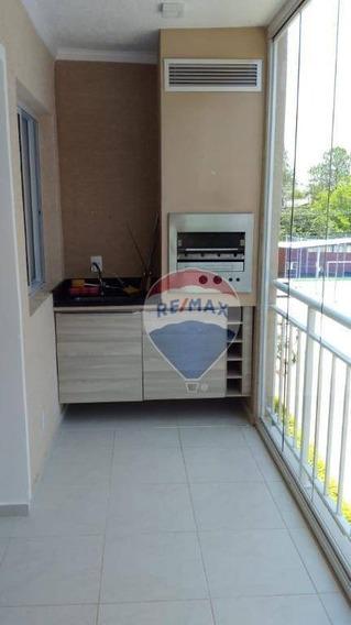 Apartamento Com 2 Dormitórios Para Alugar, 82 M² Por R$ 2.000,00/mês - Jardim Floresta - Atibaia/sp - Ap0823