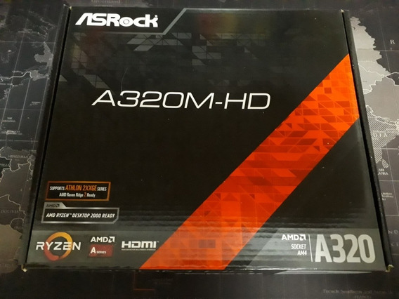 Pc Completo Athlon 200ge+a320m-hd+4gb Ram Ddr4 2666mhz+ssd