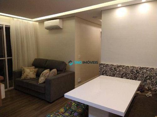 Imagem 1 de 20 de Apartamento Com 57 Metros Quadrados Na Vila Satúrnia Em Campinas - Sp. - Ap1470