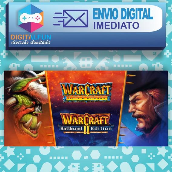 Warcraft 2 E 1 + Expansões (envio Digital)