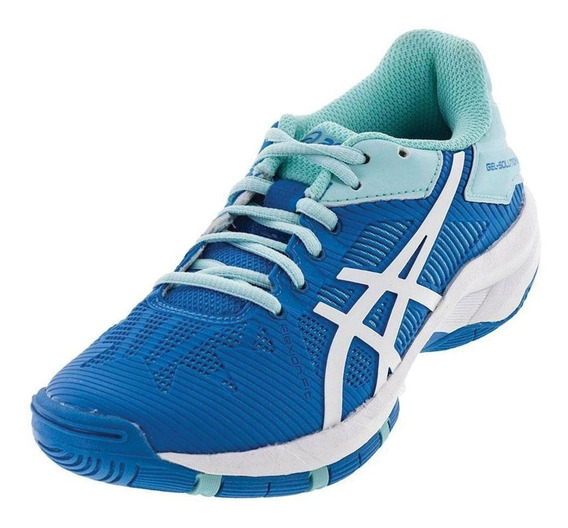 Tênis Asics Gel Solution Speed 3 Aqua Splash/ White/ Blue