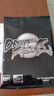 Tarjetas Dragon Ball Fighterz Collectorz Edition.