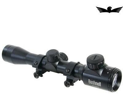 Luneta Bushnell 4x32eg Retículo Luminoso/suporte Trilho 20mm