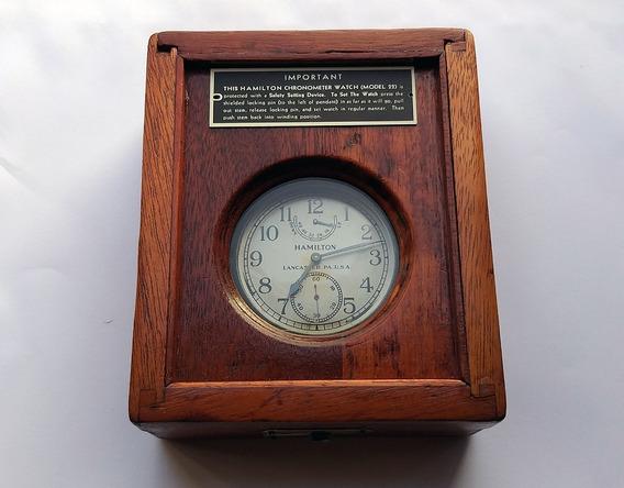 Hamilton Chronometer Militar 2º Guerra Us Navy - Promoção