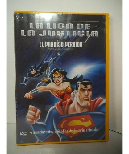 Liga De La Justicia El Paraiso Perdido Dvd