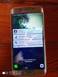 Samsung S6 Edge Gold 32 Leer Bien No Envíos Para Repuestos