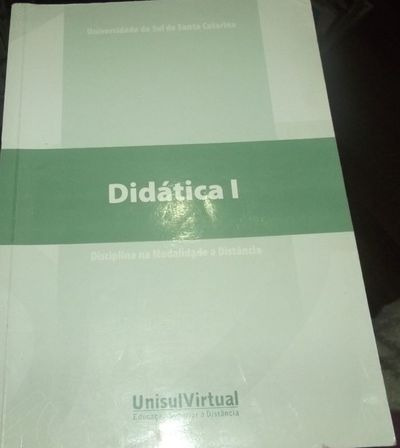Livro Didatica I Universidade Do Sul De Santa Catarina