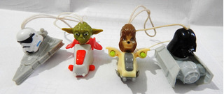 Kinder Ovo Star Wars Cordinha Para Celular X4 Lote 63