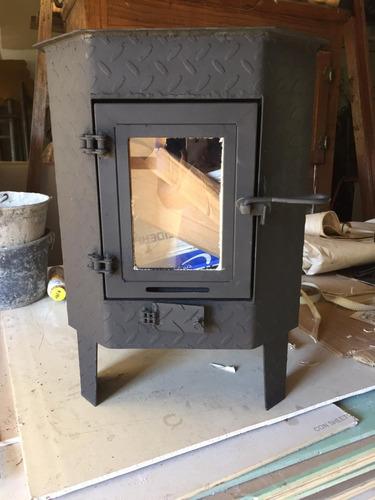 Imagen 1 de 8 de Calefactor Doble Combustion Estufa