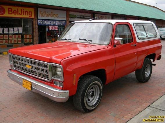 Chevrolet Blazer K5 Cheyenne Blazer 5.7cc