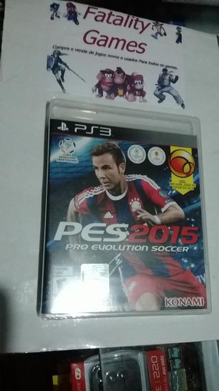 Pes 2015 Ps3 Pro Evolution Soccer Lacrado Novo Promoção!!!