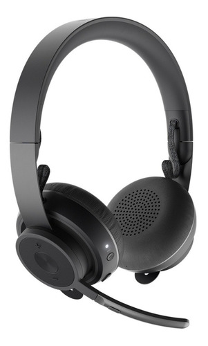 Imagen 1 de 2 de Auricular Logitech Zone Inalámbrico Bluetooth Con Micrófo Lt