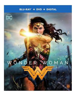 Blu Ray Wonder Woman Mujer Maravilla Dvd Marvel Dc