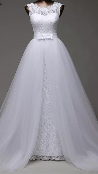 Vestido Noiva 2 Em 1