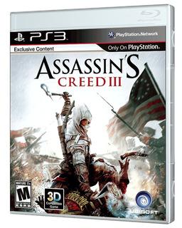 Juego Ps3 Assassins Creed 3 Ps3