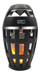 Parlante Bluetooth Spg-004 Efecto Llama Fuego
