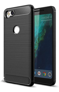 Capa Case | Google Pixel 2 | Carbon Fiber | Anti Impacto