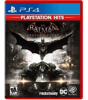 Batman Arkham Knight Ps4 Nuevo Fisico Sellado
