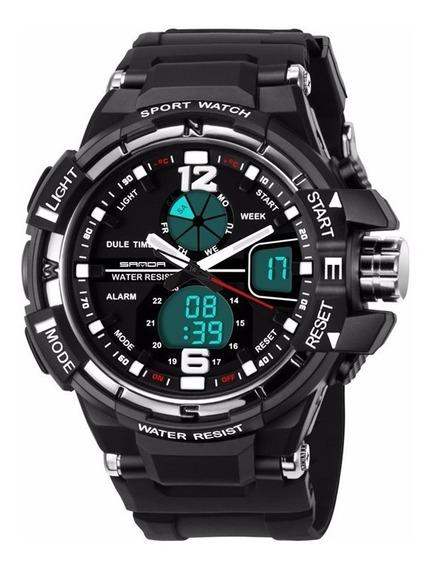 Relógio Masculino Esportivo Casual Funcional Militar Top!!!