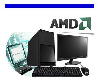 Mejor Precio Pc Computadora Amd Quad Core 4gb Ddr3 160gb