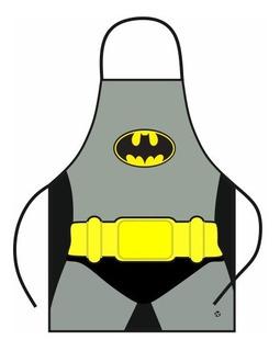 Delantal De Cocina Adulto Batman Superman Mujer Maravilla