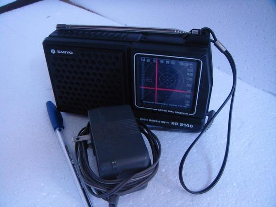 Radio Am E Fm Sanyo Portatil Rp 5140