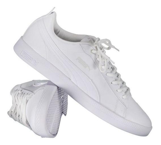 Tênis Puma Smash V2 Feminino Branco