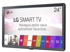 Smart Tv Monitor Lg 24 Polegadas Led Hdmi 24tl520s Wi-fi