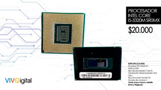 Procesador Intel Core I5-3320m Sr0mx