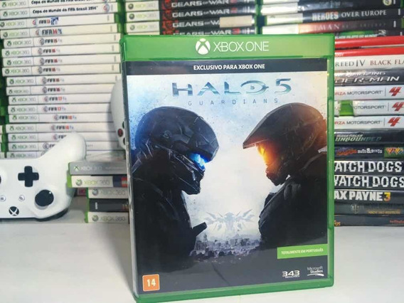Halo 5 Para Xbox One Original Em Cd