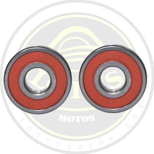 Par Rolamento Da Roda Traseira Dafra Apache 150 Scud 001998 / 003359 Com Nota
