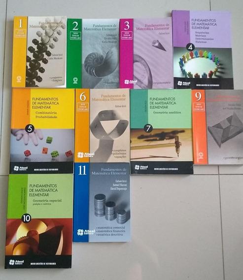 Ime Ita - Fundamentos Da Matemática Elementar - 10 Volumes