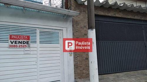 Sobrado Com 5 Dormitórios, 240 M² - Venda Por R$ 1.060.000,00 Ou Aluguel Por R$ 6.000,00/mês - Santo Amaro - São Paulo/sp - So4538