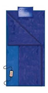 Saco De Dormir Azul Smart 1,65x2,00 Estética Infravermelho