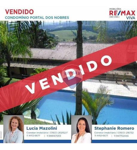Casa Com 5 Dormitórios À Venda, 569 M² Por R$ 1.200.000,00 - Portal Dos Nobres - Atibaia/sp - Ca5758