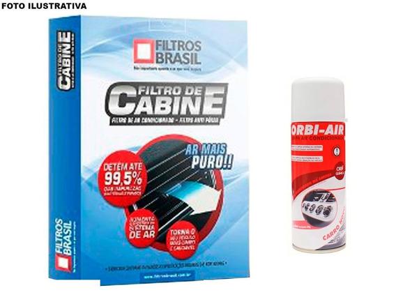 Filtro De Cabine + Limpa Ar Cond. Vw Gol, Paratti G3 G4 00/