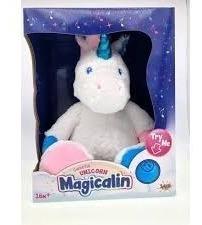 Magicalin Peluche Unicornio Luz Y Sonido Acompaña Tu Sueño