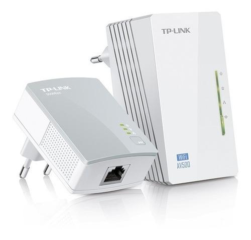 Extensor Powerline Wi-fi 300mbps Av500 Tl-wpa4220 Kit Pce