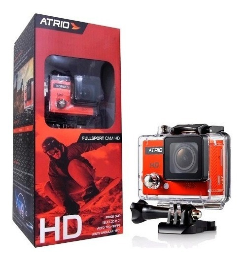 Lançamento Câmera Ação Atrio Fullsport Cam Hd Dc186 Completa