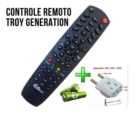 Controle Remoto Hd Digital Aparelho 4k Full Hd 5.1dsp+brinde