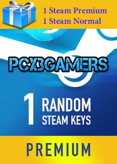 1 Random Steam Premium Cd-key Sobre $ 5000 Mas Codigo Regalo